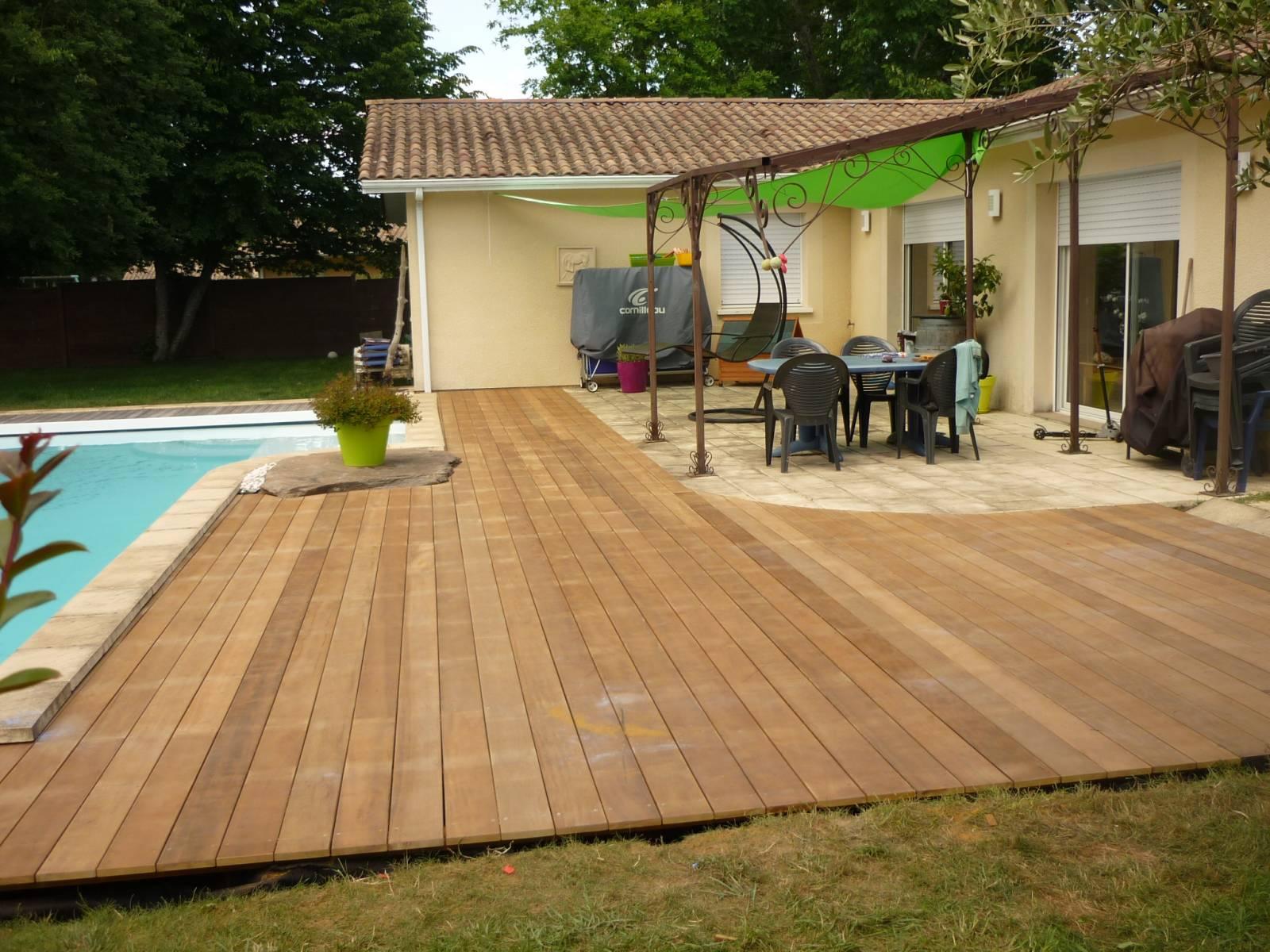 terrasse en bois exotique itauba a mérignac - DECK CAILLEBOTIS