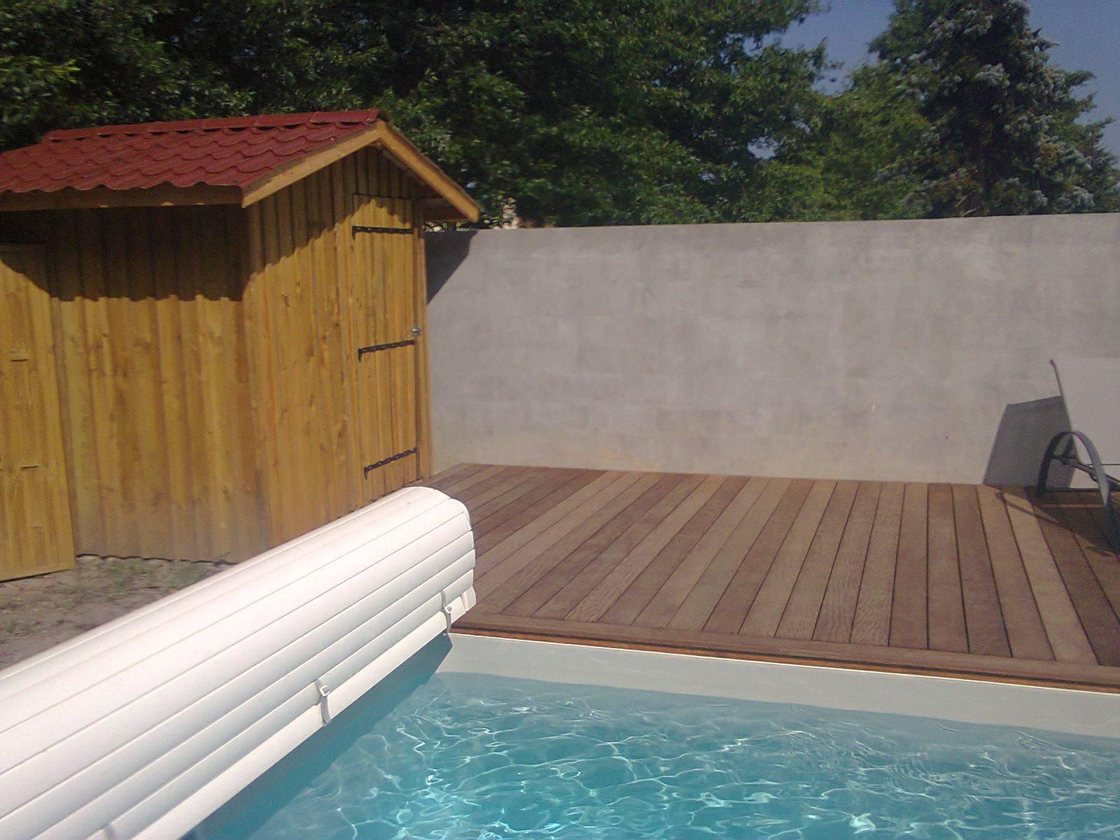 R alisation d 39 un local et cabanon en bois sur mesure gradignan deck caillebotis - Cabanon de jardin sur mesure ...